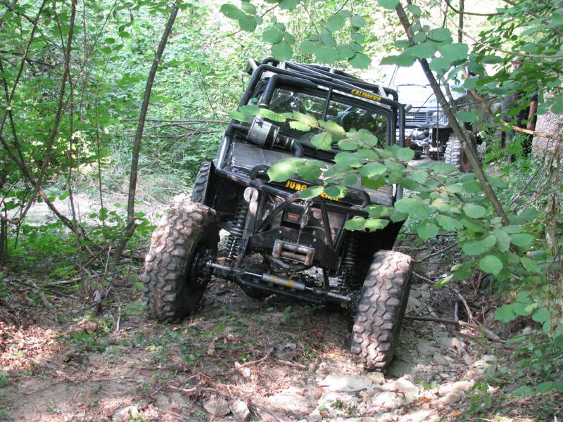 Evento WTI di jeep fuoristrada sui nostri terreni